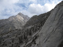 Rock Climbing Photo: View looking south from Candlelight Buttress.