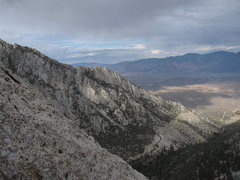 Rock Climbing Photo: Looking north over Whitney Portal from the top of ...