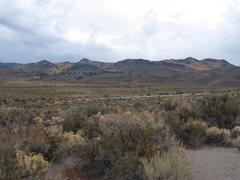 Rock Climbing Photo: Granite Basin (east of Lee Vining). The trees were...