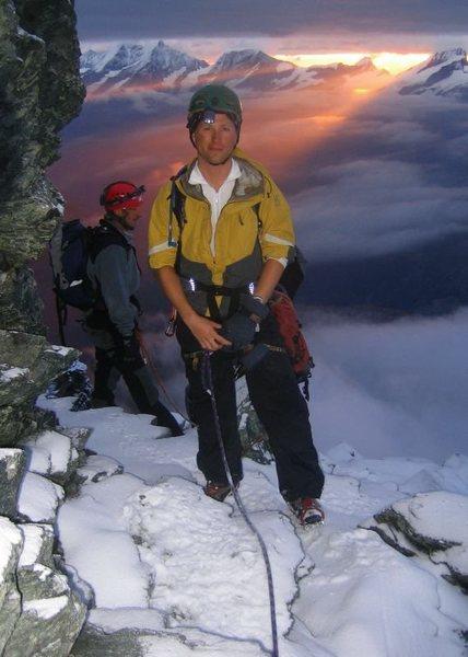 Rock Climbing Photo: Sunrise on the Matterhorn, 2006