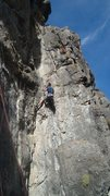 Cal leading the crux on mission.