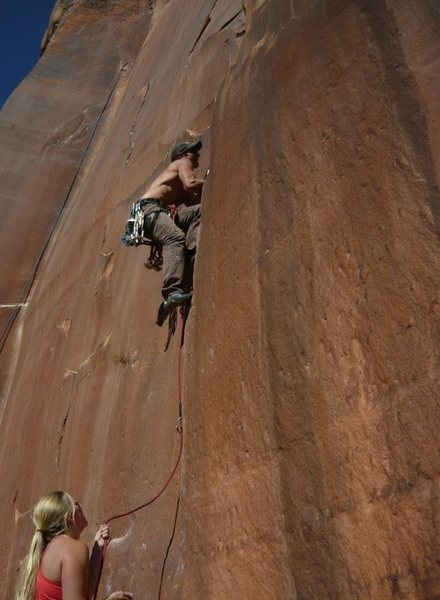 more desert crack climbing
