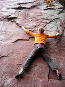Rock Climbing Photo: This was my onsite attempt. The actual beta makes ...