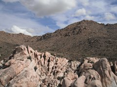 Rock Climbing Photo: Looking to the East from the summit of Way Gone Do...