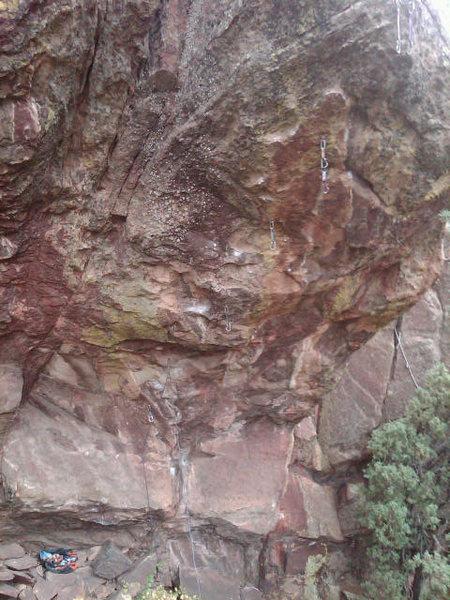 Rock Climbing Photo: Tunnel Vision, 13b.