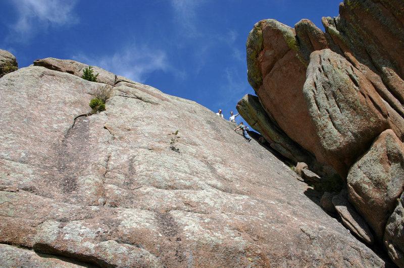 "Rock Climbing Photo: Taylor Boykin following ""Bulgaria,"" 18 S..."
