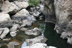 Rock Climbing Photo: The creek at the Power Wall.