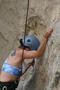 Rock Climbing Photo: Marta on Powder Puff Girls.