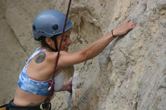 Rock Climbing Photo: Marta on Powder Puff Girls.