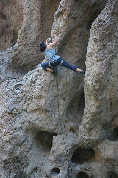 Uknown climber on Power Grid. She did cruz it.