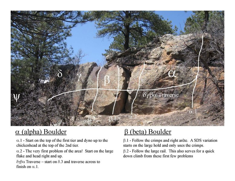 Rock Climbing Photo: Entire Block overview.