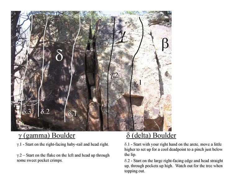 Rock Climbing Photo: Delta & Gamma specifically.