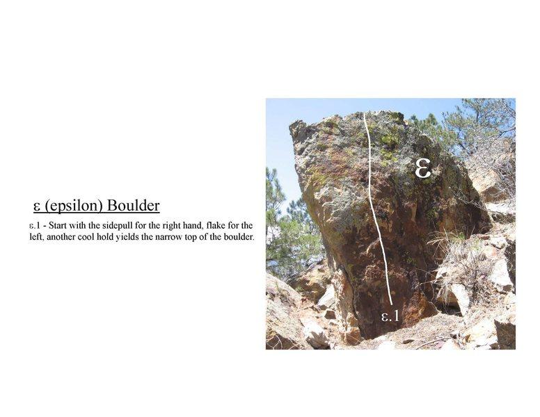 Epsilon Boulder.