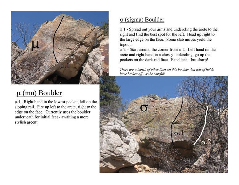 Mu & Sigma Boulders.