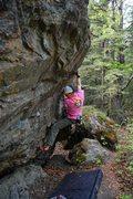 Rock Climbing Photo: An alternate beta set for Powderpuff.
