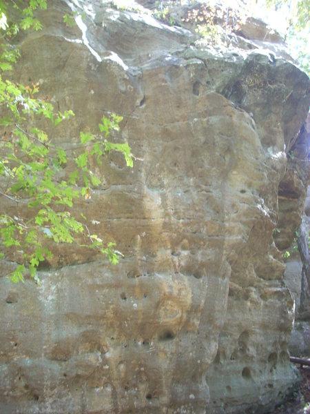 Rock Climbing Photo: Closer shot of Everybody Needs Friends.