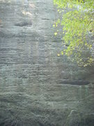 Rock Climbing Photo: Starts on the point on the lower right hand side o...