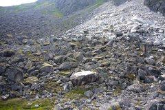Rock Climbing Photo: Base of the Diamond