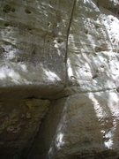"Rock Climbing Photo: ""Flaire"" 5.12d climbs straight up the wi..."