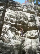 Rock Climbing Photo: Might be a newer route not in the book? right side...