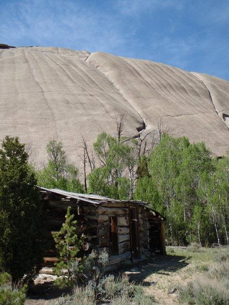 Feldspar Route (left), Moonstone Dome
