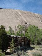 Rock Climbing Photo: Feldspar Route (left), Moonstone Dome