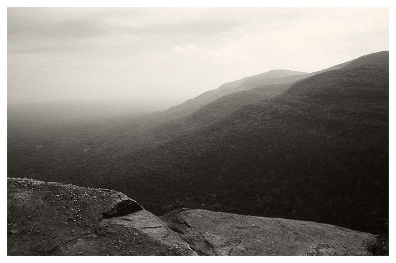 Rock Climbing Photo: Looking off the Catskill escarpment. Platte's clov...
