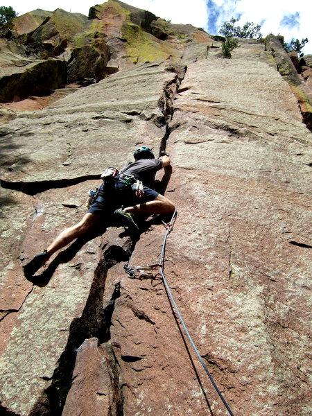 Rock Climbing Photo: Hand Crack