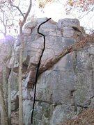 Rock Climbing Photo: Hang Dog