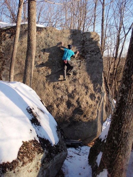 Rock Climbing Photo: Grady is prime temps