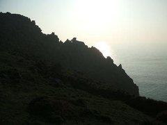 Rock Climbing Photo: The ridge in profile (photo by Phil Ashton)