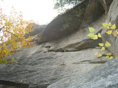 Rock Climbing Photo: The Fin 5.9+