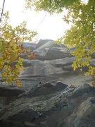 Rock Climbing Photo: Top half of Westfalia 5.10a