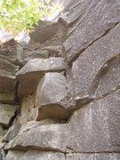 Rock Climbing Photo: Start to Westfalia
