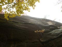 Rock Climbing Photo: Top section