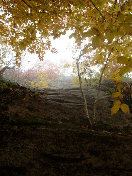 Rock Climbing Photo: Shitty pic but...