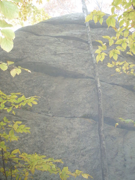 Rock Climbing Photo: The Arete at the Left End