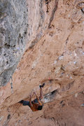 Rock Climbing Photo: The physical 4th clip which is mandatory since you...