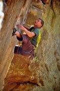 Rock Climbing Photo: Eyeballing the finish holds of Ro Shampo. October ...