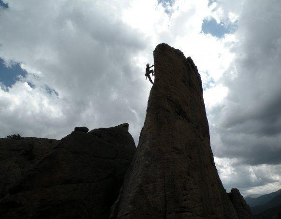Photogenic climb.