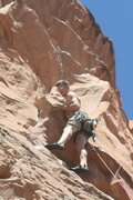 Rock Climbing Photo: Halfway up Potstash