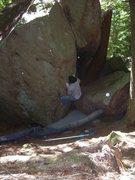 Rock Climbing Photo: Pete Otis sending Innovator
