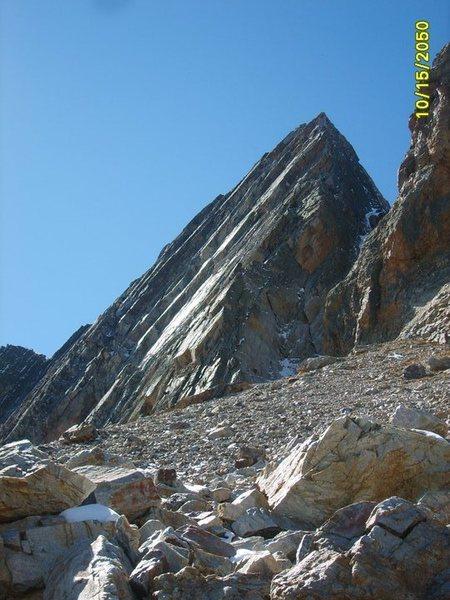 North Side of Diamond Peak