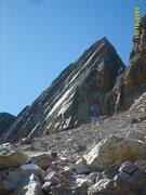 Rock Climbing Photo: North Side of Diamond Peak