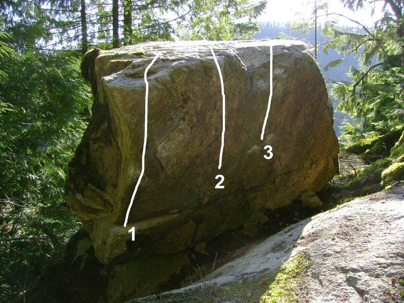 Rock Climbing Photo: 1. Unknown 2. Unknown1 3. Unknown2