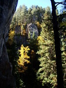 Rock Climbing Photo: Fall in the Gully of Biblical Proportions.