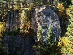 Rock Climbing Photo: Fall, on your knees and worship at the Gully of Bi...