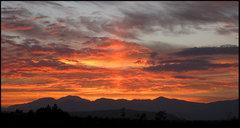 Rock Climbing Photo: Sunset 10-16-2010. Photo by Blitzo.