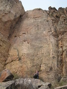 Rock Climbing Photo: Sr. Verde climbs the prow on the right side of thi...