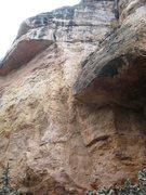 Rock Climbing Photo: EBDGAB follows the central corner system towards t...
